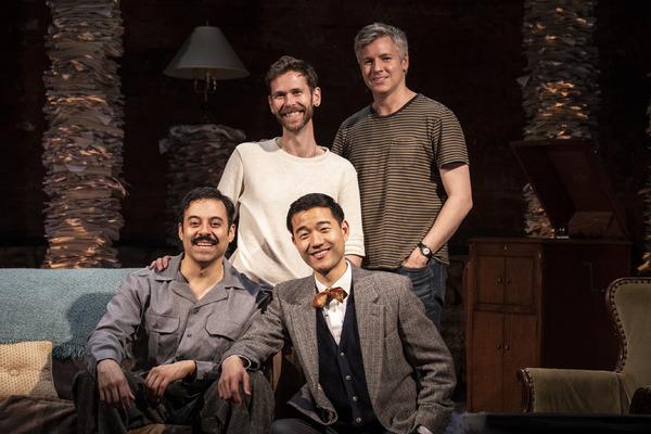 Juan Francisco Villa, playwright Philip Dawkins, Daniel K. Isaac, director Tony Speciale