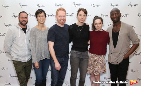 Ian Harvie, Cindy Cheung, Jesse Tyler Ferguson, Dolly Wells, Talene Monahon, and Phil Photo