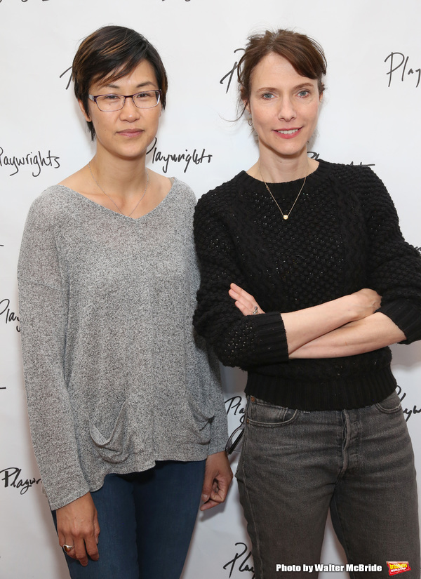 Cindy Cheung and Dolly Wells