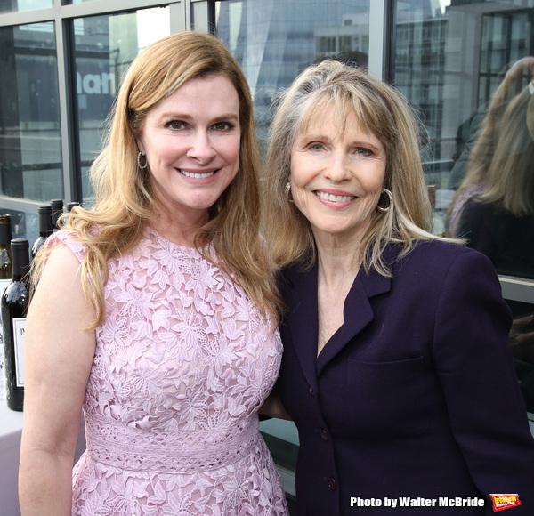 Elizabeth Dewberry and Donna Hanover