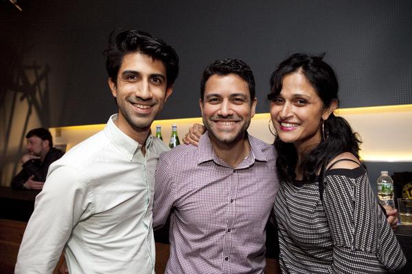 Sathya Sridharan, Sanjit De Silva, Deepa Purohit Photo