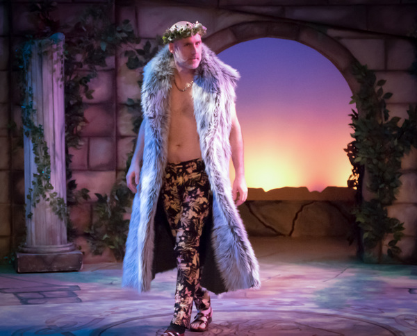 Kevin McKillip in A Midsummer Night's Dream. Photo by Dave Bonnot.