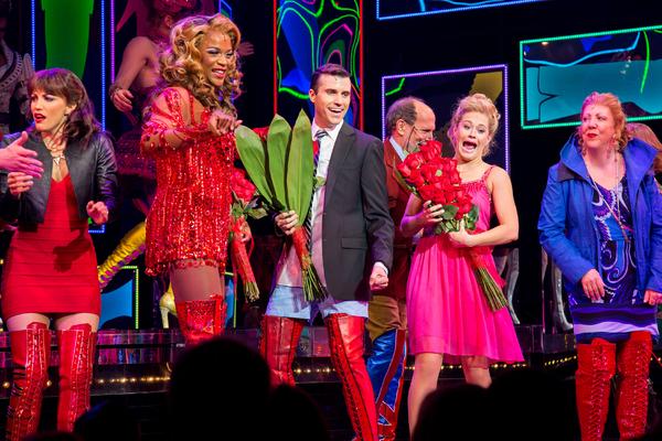 Caroline Bowman, J. Harrison Ghee, Tyler Glenn, Carrie St. Louis, Jennifer Perry