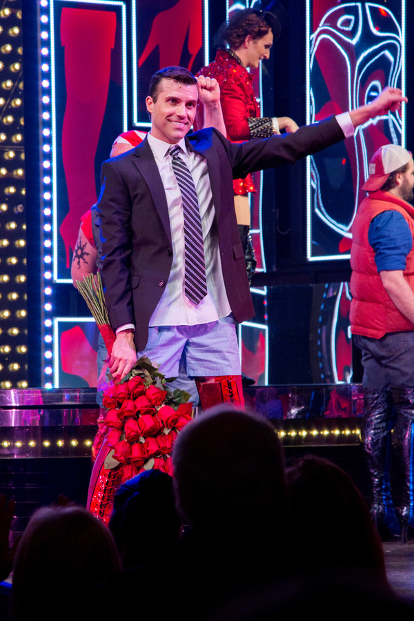Photo Coverage: Tyler Glenn and Carrie St. Louis Take Their First Bows In KINKY BOOTS