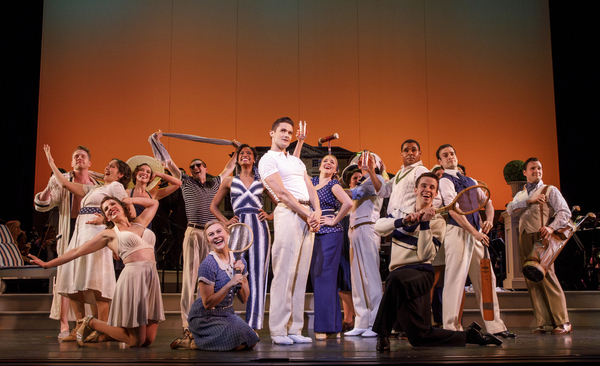 Photo Flash: Do the Lambeth Walk to a First Look at Encores! ME AND MY GIRL