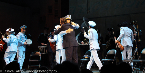 Photo Coverage: The NYPD Band Visits THE BAND'S VISIT