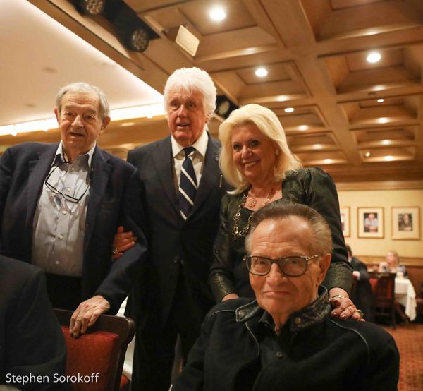 Herbi Cohen, William O'Shaughnessy, Christina Rose, Larry King Photo