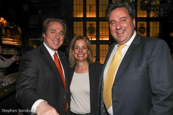 Ralph Compagnone, Toni Haber, Carlo Mantica, CEO Le Cirque International