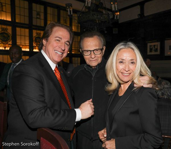 Ralph Compagnone, Larry King, Eda Sorokoff Photo