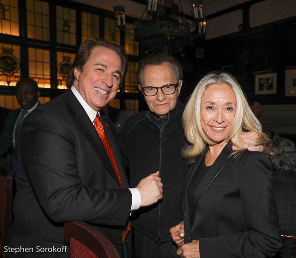 Ralph Compagnone, Larry King, Eda Sorokoff