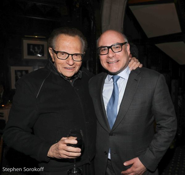 Larry King & Michael Gyure, executive director Photo
