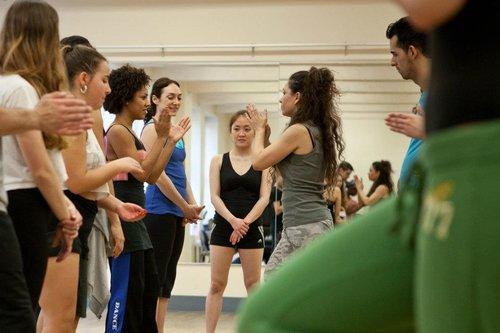 Valeria Cossu ofrecerá una Master Class de Body Percussion en Madrid