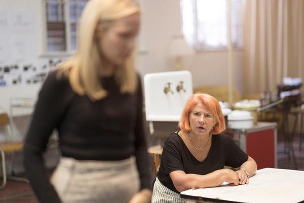 Emily Berrington and Denise Black
