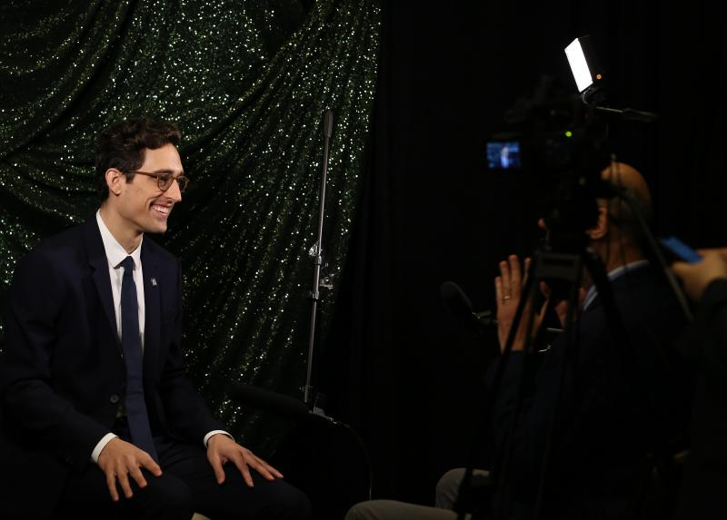 WATCH NOW! Zooming in on the Tony Nominees: Justin Peck