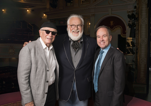 Terrence McNally (RAGTIME Book), Frank Galati (Director of the Original Broadway Production of RAGTIME), and Stephen Flaherty (RAGTIME Music). Photo by John Revisky.