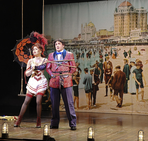 Billie Wildrick and Benjamin Dutcher in Asolo Rep's production of RAGTIME. Photo by Cliff Roles.