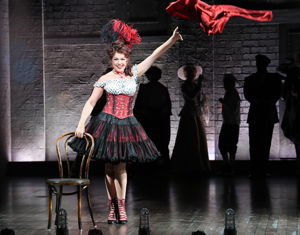 Billie Wildrick in Asolo Rep's production of RAGTIME. Photo by Cliff Roles. Photo