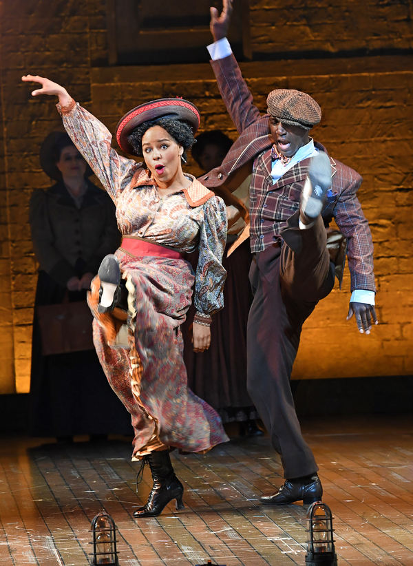 Jade Turner and Alfie Parker Jr. in Asolo Rep's production of RAGTIME. Photo by Cliff Roles.