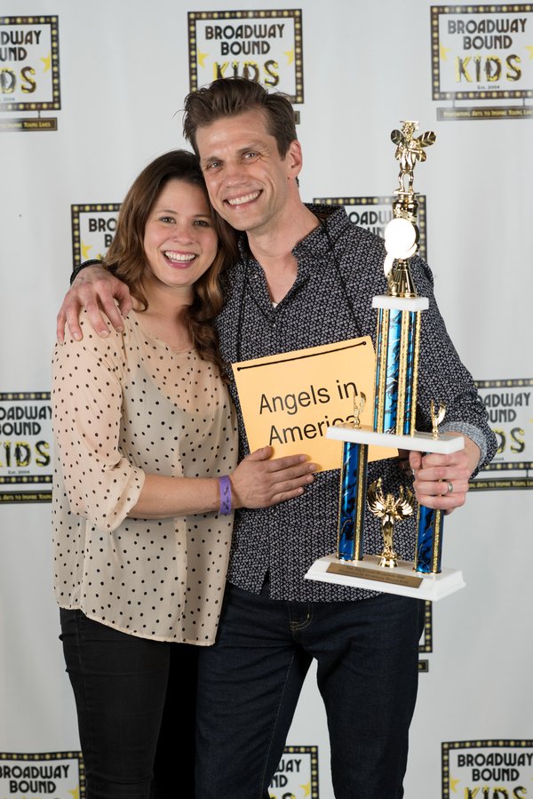 Lee  Aaron  Rosen,  with  his  wife,  Adria Vitlar