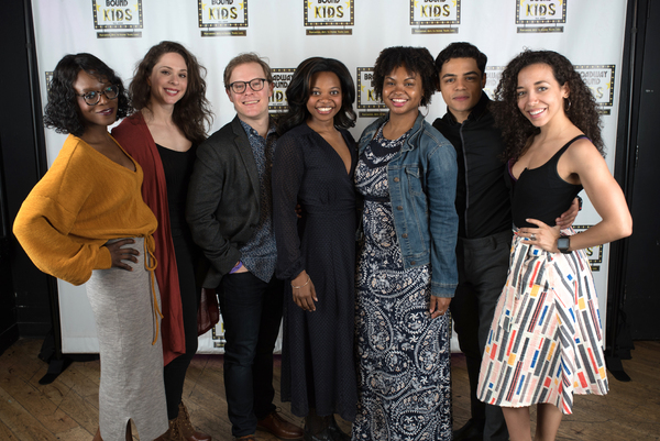 Adeola  Role,  Lauren  Cipoletti,  Alex  Weisman,  Susan  Heyward,  Malika  Samuel,  Josh  DeJesus,  and  Alanna  Saunders