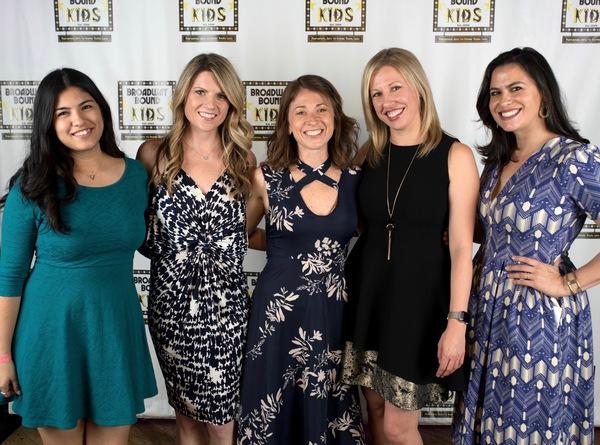 Erica  Ayala, Erin  Glass,  Katy  Finn,  Andrea  Kehler, and  Jessica  Canuelle Photo