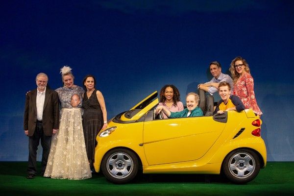 Christopher Durang, Emily Mann, and Cast