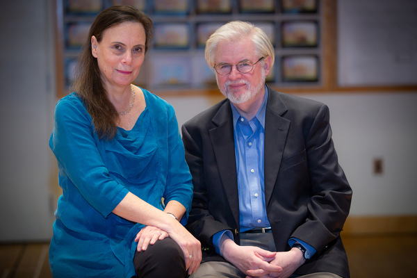 Emily Mann and Christopher Durang