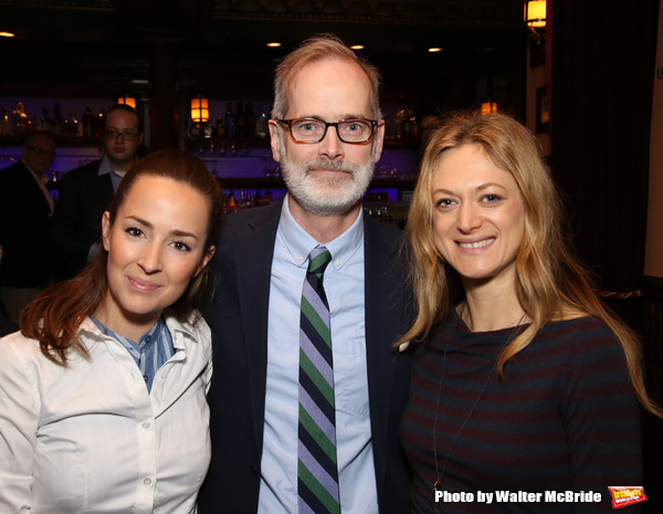 Hannah Elless, Jack Cummings III and Marin Ireland