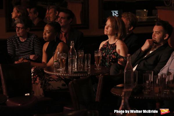 Elisabeth Vincentelli, Noma Dumezweni,  Adam Feldman, Poppy Miller and Alex Price