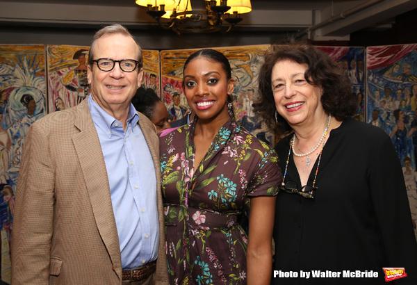 Barry Grove and Lynne Meadow with Condola Rashad