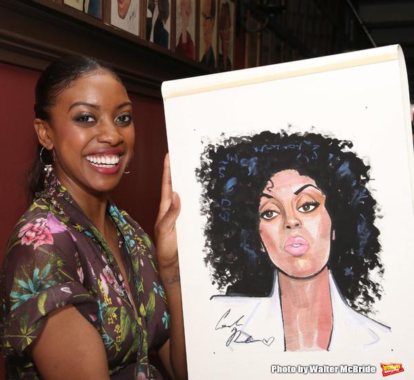 Photo Coverage: Condola Rashad Receives Her Portrait at Sardi's