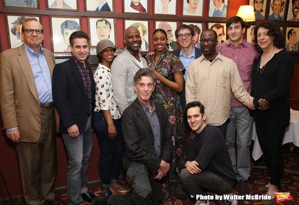 Barry Grove, Lynne Meadow and the cast of 'Saint Joan' with Condola Rashad