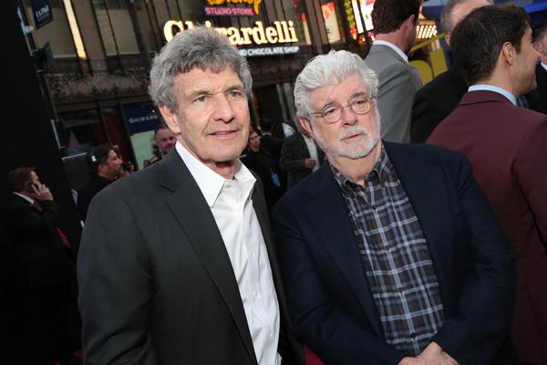 Alan Horn, George Lucas  Photo