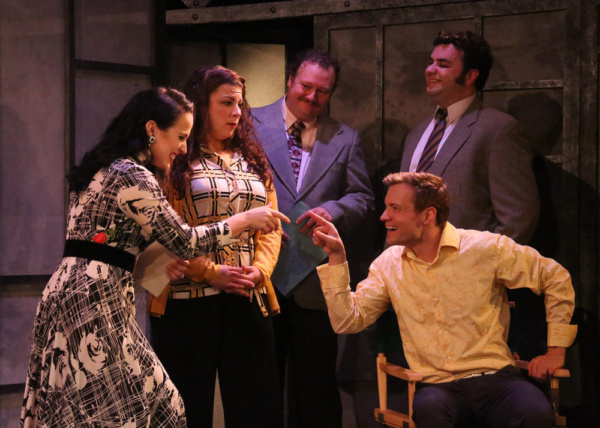 Rachel O'Malley, Trish LaRose, Craig McKerley, Adam Berry and Anthony Teixeira Photo