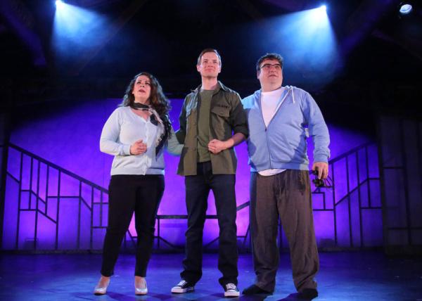 Trish LaRose, Adam Berry and Jared Hagan