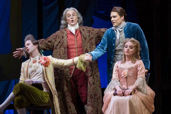 Photo Flash: Get A First Look At Washington National Opera's CANDIDE Starring Alek Shrader andEmily Pogorelc