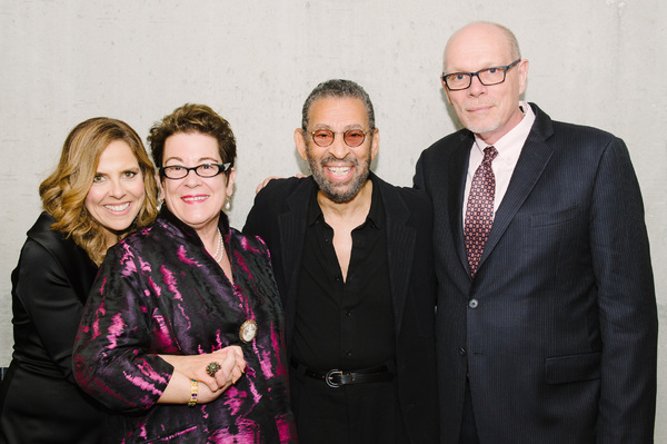 Mary McBride, Artistic  Molly Smith, Maurice Hines and Executive  Edgar Dobie