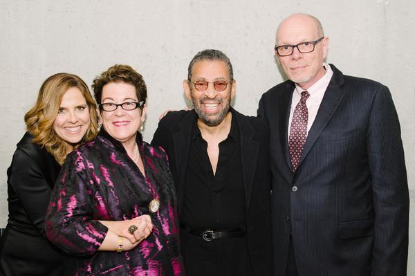 Mary McBride, Artistic  Molly Smith, Maurice Hines and Executive  Edgar Dobie