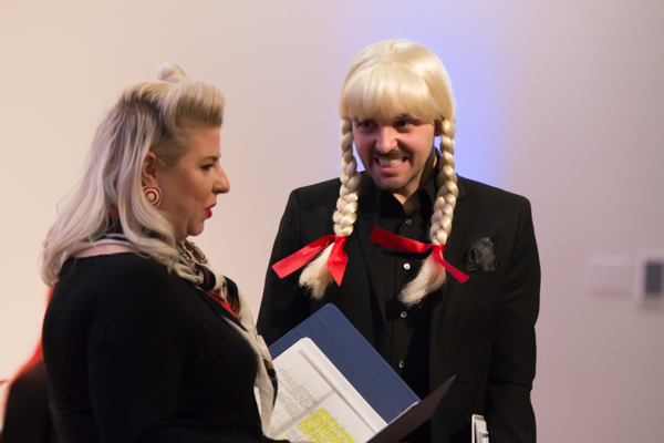 Photo Coverage: Inside Evolution Theatre Company's Staged Reading THE LADY IN QUESTION