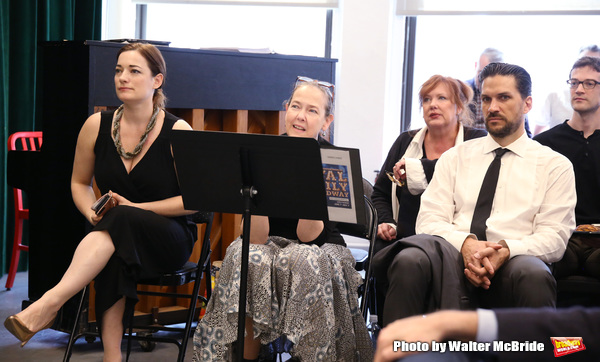 Laura Michelle Kelly, Harriet Harris, Kathy Fitzgerald, Will Swenson and AJ Shively