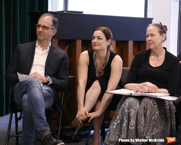 John Rando, Laura Michelle Kelly and Harriet Harris