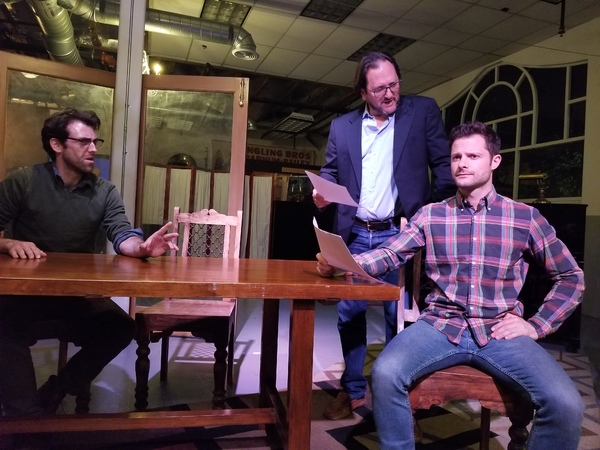 Photo Flash: First Look at Pop Up Theater, Inc.'s SEMINAR