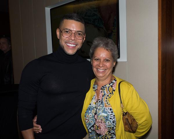 Wilson Cruz and Iris Echevarria Photo