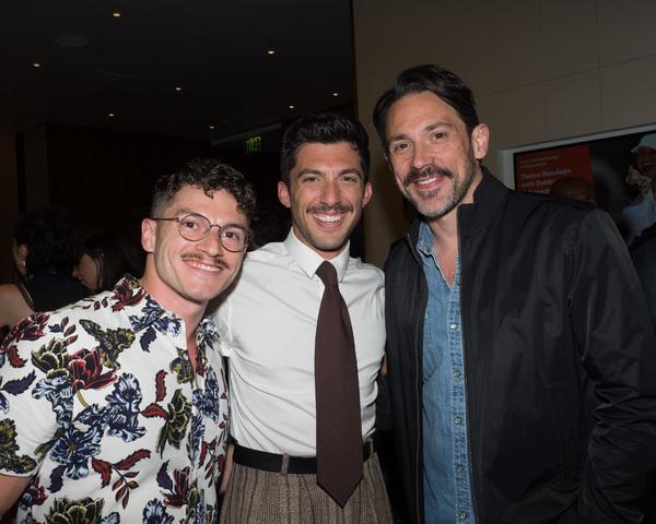 Jesse Vargas, Steve Mazurek, and Steve Kazee