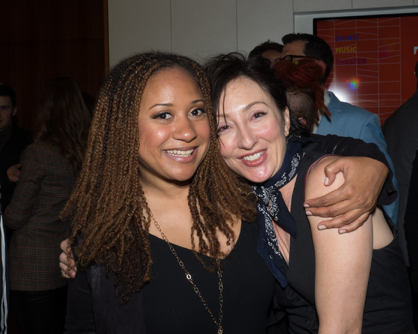 Tracie Thoms and Carmen Cusack