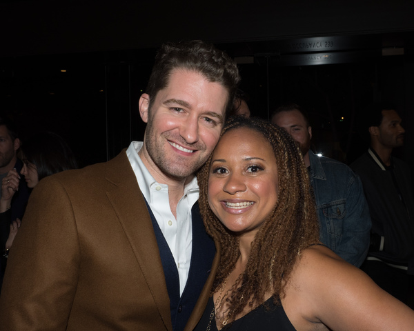 Matthew Morrison and Tracie Thoms