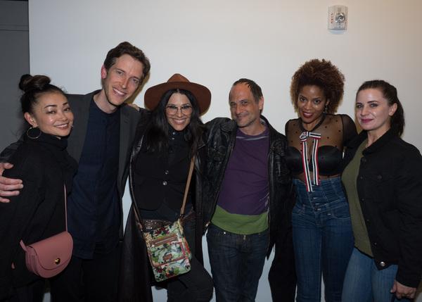 Sumie Maeda, Anderson Davis, Tomasina Abate, Jason Paige, Dionne Gipson, and friend Photo