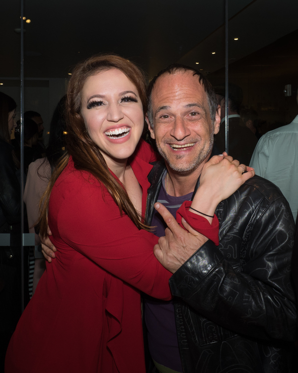 Olivia Kuper Harris and Jason Paige Photo