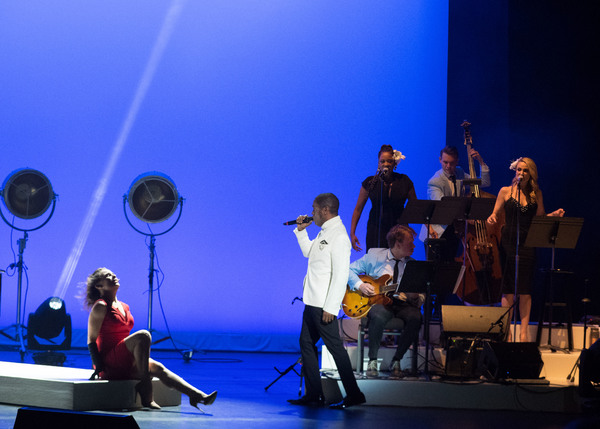 Photo Coverage: VINTAGE TROUBLE'S TY TAYLOR DEBUTS NOUVEAU MID-CENTURY ROMANCE SONGBOOK AT THE WALLIS ANNENBERG