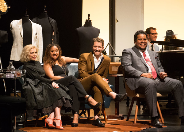 Brenna Whitaker, Tracie Thoms, Matthew Morrison, Chris Pierce, and Peter Smith Photo